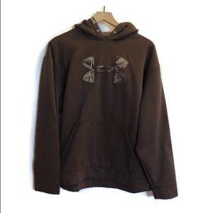 Under Armour Hooded Sweatshirt. Size Xl